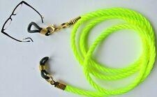 "Green Coloured Eye / sun Glasses / Spectacles  lanyard 24"" (61cm)   Cord"