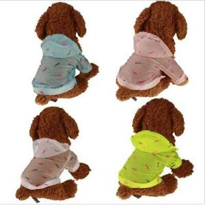 Sunscreen Dog Sun Clothing Pet Cool Clothes Windproof Lightweight Dog Clothes SL