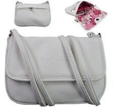 Fashion kleine Damentasche Handtasche Umhängetasche Abendtasche Tasche Weiß