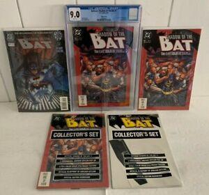 Shadow of the Bat Slab + Raw Comics