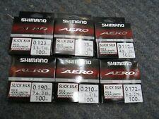 shimano line AERO  100 METRES SLICK SILK best on market