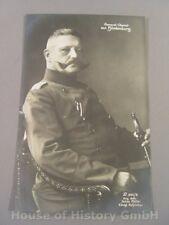 112878, GENERAL OBERST VON HINDENBURG, Julius Müller Postkarte 301/3
