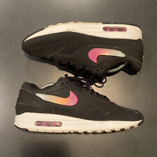 "Nike Air Max 1 ""Jelly"" Swoosh Black/Laser Fuchsia/Pink Fury [A01021-003] Sz 10.5"