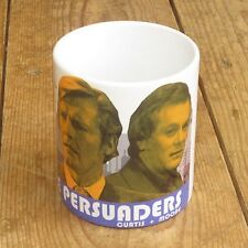 The Persuaders Roger Moore Tony Curtis Promo MUG