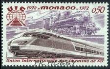 Monaco 1972 Mi 1034 ** Locomotives Lokomotiven Train Zug Treno Locomotiva