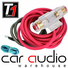 8 AWG 1000 Watt 8 Gauge Car Amplifier Amp Sub Power Earth & Remote Wiring Kit