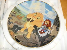 """Disney's """"The Lion King"""" Plate Collection by Bradford Exchange - Circle Of Life"""