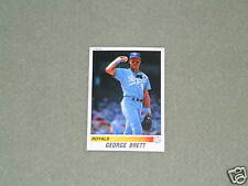 GEORGE BRETT-PANINI Sticker Card- #91-1990