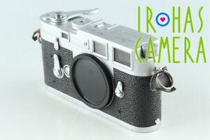 Leica Leitz M3 35mm Rangefinder Film Camera #31514 D3