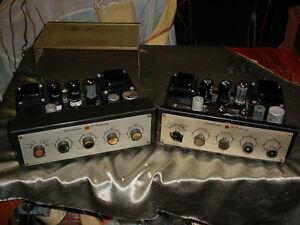 Grommes Tube Amplifier Pair 6V6 + 12AX7 Tubes Integrated Model 56PG 56-PG