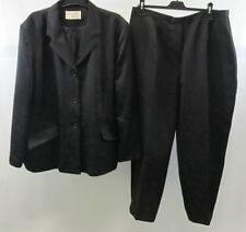 Tailleur e abiti sartoriali da donna nero in poliestere