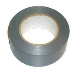 12 x Silver Extra Strong Cloth Gaffa Duct Tape 50mm X 50M UK SELLER