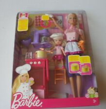 Barbie and Shelly - Sweet Chef set - asst R4300 - R4302