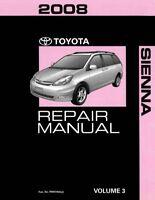 1998 Toyota Sienna Van Factory Service Manual Original Shop Repair Book Ebay