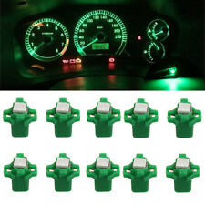 10pc T5 B8.3D 5050 SMD Car LED Dashboard Dash Gauge Instrument Light Bulb Green