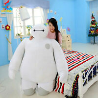 Giant Huge Big Hero Baymax Robot Plush Stuffed Soft Toys Dolls Kid Fancy Gift A+