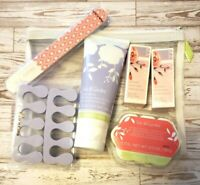 Lot of 6 Mary Kay Into Garden Pedicure Spa Foot Scrub/Fizzies/Polish Gift Set