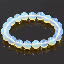 1PC Opalite GemStone Bracelet Handmade Beaded Bracelet Bangle 8mm