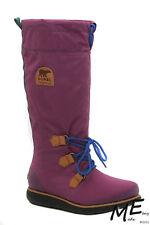 New Sorel NL1708 '88 Women Waterproof Winter Boots Size 6 (MSRP $180) Purple