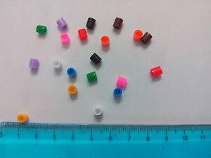 100 Anelli di plastica per uccelli 2,9mm APRIBILI ROSA