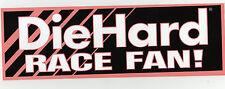(10) Vintage Die Hard Race Fan Sears Decal Race car Contingency