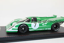 FrontiArt f018-07 porsche 917 7 David piper vert blanc 1:18 NEUF avec emballage d'origine