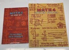 Teaching Textbooks Math 4 (2.0 Version) Cds & Answer Booklet