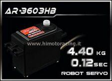 NUOVO SERVO ROBOT POWER 4.4Kg AR-3603HB ROTAZIONE CONTINUA INGRANAGGI PLASTICA