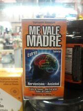 Me Vale Madre Tablets 60 Tabs Of 500mg Capsules/ Tabletas Me vale Madre Capsulas