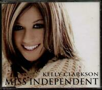 KELLY CLARKSON Miss Independent  CD 4 Tracks, Orig/Mauve Mix/Video/Natural Woman