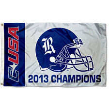 Rice Owls Conference USA Champs Flag 3x5 Large Banner