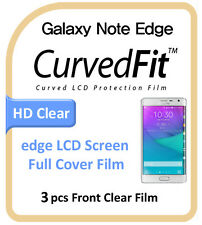 Galaxy Note Edge N915 Clear LCD Full Cover Screen Protection Protector 3pcs Film