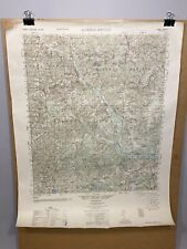 Jackson Springs North Carolina Moore County 1950 Old Map NC Topographical Survey