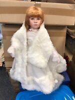 Ute Kase Lepp ⭐️⭐️ Porzellan Puppe 70 cm. ⭐️⭐️ Top Zustand