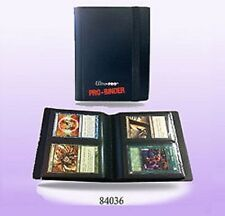 Ultra Pro *2 POCKET PRO BINDER BLACK* - 20 Pages & 80 Cards GAMING/TRADING
