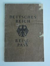 GERMANY 1929 PASSPORT. RARE. MEDAL