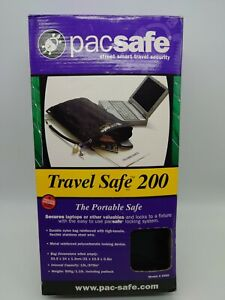 Pacsafe Travel Safe 13L portable safe reinforced steel wire new and unused