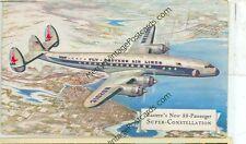 EASTERN AIRLINES SUPER CONSTELLATION NEW 88 PASSENGER VINTAGE(JL7-17)