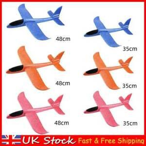 EPP Foam Hand Throw Airplane Aircraft Model Outdoor Launch Glider Plane Kids Toy