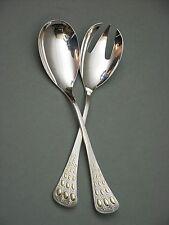 (816) Rosenthal Wiinblad Romanze Kleines Salatbesteck 925er Silber teilvergoldet