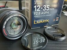 Panasonic LUMIX G X Vario 12-35mm f/2.8 Power O.I.S. Aspherical AF NCS Lens