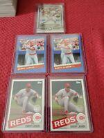 BARRY LARKIN- 2019 Topps Museum Collection Base Plus 4 card lot Cincinnati Reds