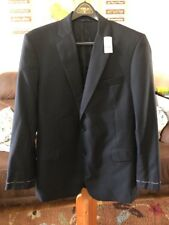 Brooks Brothers Mens 43L Navy Blue 2 Button Blazer Sports Coat NEW Unfinished