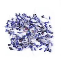 (0.1uF~220uF) 25 value 210pcs Electrolytic Capacitor Assortment Kit Assorted Set