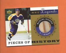 2001-02 UD LEGENDS MARCEL DIONNE GAME-USED STICK #PH-MD LOS ANGELES KINGS