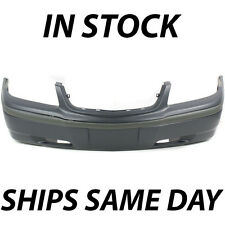 NEW Primered - Front Bumper Cover Replacement For 2000-2005 Chevy Impala W/o Fog