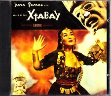 YMA SUMAC- Voice of the Xtabay & Exotic Delights CD Jazz/Easy Listening 1950 ++