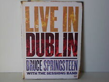 "***DVD-BRUCE SPRINGSTEEN WITH THE SESSION BAND""LIVE IN DUBLIN""-2003 Sony BMG***"
