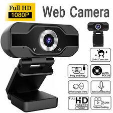 1080P Full HD Web Camera Auto Focusing Webcam+Microphone For PC Desktop Laptop