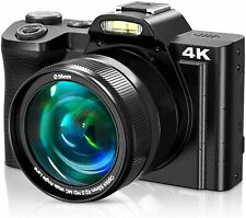 4K Digital Camera, Video Camera Camcorder VideoSky UHD 48MP with WiFi 3.5 in Tou